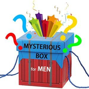 Mysterious box for men Retail over  $350